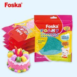 Plasticine educativo intelligente variopinto Moldeable spumoso Granulado di Foska DIY