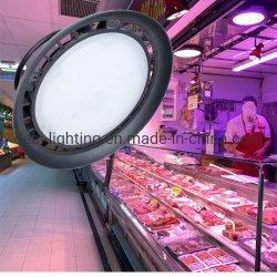 슈퍼마켓 사용 50W UFO LED 높은 만 램프 분홍색 점화