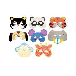3D animal animaux EVA masque masque nez DIY Masque d'animaux en mousse