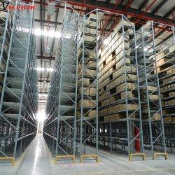 La industria de acero regulables en altura de rack Almacenamiento