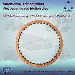 Toyota-Übertragung A750e/F (2003-ON) 5 Geschwindigkeit Rwd Friktions-Platte (35684-60010)