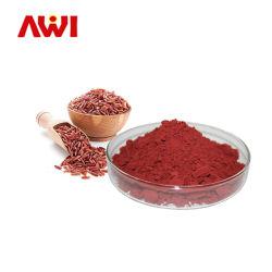 Los ingredientes alimentarios funcionales orgánicos fermentados Arroz de levadura roja