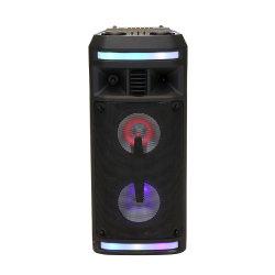 Casa Professional Mini caixa acústica DJ som com o Partido Bluetooth luz de LED