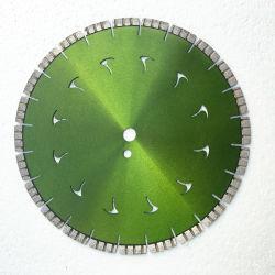 Soldada a Laser Circular Silenciosa Diamond lâminas de serra discos de corte de serra de parede vendo piso de concreto armado asfalto concreto verde mármore Granito Pedra tijolo
