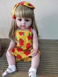 2021 Новые поступления детей игрушки новорожденный ребенок кукла игрушка для детей в полной мере Силиконовый корпус возрождается кукла