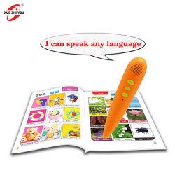 Los niños de la máquina de aprendizaje inteligente juguetes educativos hablando de sonido de plumas Libro English Reading Pen