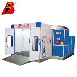 Cabina de pintura automática de equipos de garaje coche Horno Customied Venta Directa de Fábrica de cabina de pintura