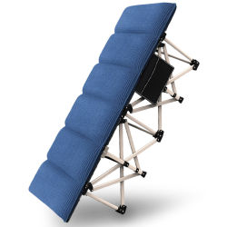 Nenhuma instalação fácil transportar 500kg de capacidade com 1680d Oxford cama de campismo de dobragem