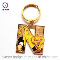 Commerce de gros cadeau promotionnel métalliques personnalisées Conception d'animaux de chaîne de clé