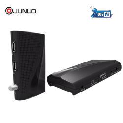 速い配達卸売のJunuo小型HD Freesat 1080P HDデジタルFTA衛星TVの受信機