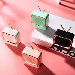 Tragbarer Mini-Bluetooth-Audiolautsprecher Dw02 mit TF/FM/USB für Sport