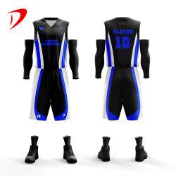 2021 impresión sublime personalizados Baloncesto Jersey Jersey de baloncesto más reciente de desgaste nuevo estilo de baloncesto de la juventud americana Cómodo jersey uniforme de Tailandia Factory