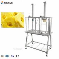 Melone commerciale del Jackfruit dell'ananas che estrae la parte centrale e che separa dalla tagliatrice