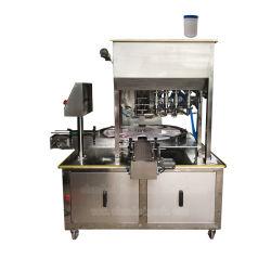 Fabricant de matières premières de qualité alimentaire d'alimentation lingettes humides le godet de remplissage de la machine d'étanchéité