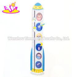 As crianças removível Cartoon Altura de madeira gráfico com Personalizar W09C008