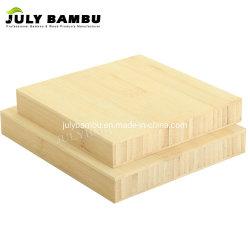 가구 디자이너 사용 3 가닥 벽면을%s Eco- 친절한 박판으로 만들어진 대나무 판자 자연적인 15mm 25mm 대나무