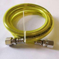 С покрытием из ПВХ гибкие стальные защищены металлической газа шланг трубки