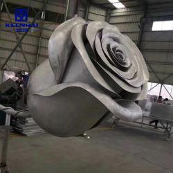 A escultura de corte a laser personalizada na decoração de metal em aço inoxidável