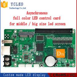 وحدة تحكم لوحة رسائل التمرير الذكية LED للحصول على مؤشر LED كامل الألوان التوقيع