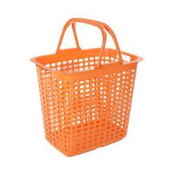 Almacenamiento de Plástico mayorista personalizado Cesta de ropa de tela con asa