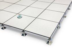 Feitos de aço levantado o piso de acesso com PVC/ladrilho HPL