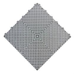 Stuoie modulari di collegamento del pavimento delle mattonelle di pavimento del garage di plastica caldo di vendite 400X400X18mm pp