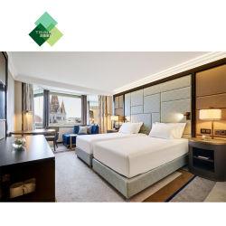 Personnalisés Hôtel moderne de luxe en bois classique double chambre à coucher Meubles standard 5 étoiles