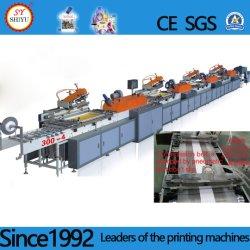 Gran Pet PVC automático de papel de seda de rollo a rollo pantalla del logotipo de etiquetar máquina de impresión de etiquetas de papel de colores de alta velocidad de impresión de pantalla