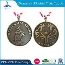 Commerce de gros bon marché irrégulière personnalisé métal or Médaillon de la Médaille pour la décoration (039)