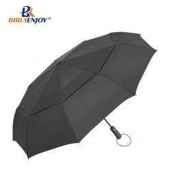 مظلة السفر - مظلة صغيرة مقاومة للرياح مع مظلة مزدوجة للفتح والإنغلاق التلقائي