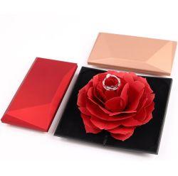 Klaar om Doos van de Gift van de Ring van de Dag van de Valentijnskaart van de Doos van het Karton van de Chocolade van het Huwelijk te verschepen de Verpakkende