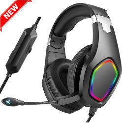 Virtual de alta calidad de sonido envolvente 7.1 con los juegos de auriculares auriculares para juegos PC/PS4/PS5/xBox uno
