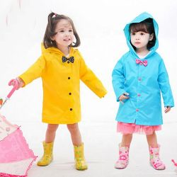 Moda Cartoon Children's Durable impermeable con capucha impermeable a los niños de la Juventud