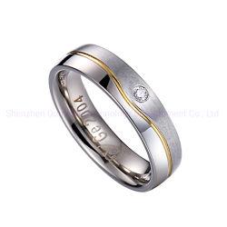 La pancia squilla l'oro poco costoso dell'anello 925 anelli d'argento