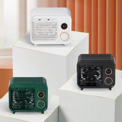 Nuevo LED pantalla digital portátil de electrodomésticos agua de neblina de pulverización de la tabla recargable Mini Electric Enfriador de aire acondicionado escritorio USB Ventilador de refrigeración