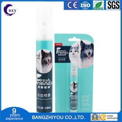 Nettoyer le Déodorant spray dentifrice liquide chiot rince-bouche