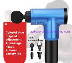 China al por mayor precio producto de masaje de 4 pistola de la fascia de mano portátil automático de vibración de la relajación muscular pie cabeza cuello hombro del brazo masajeador corporal