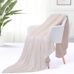 Trama ultra suaves mantas de lana tejida y acogedora lanza