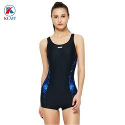 Senhoras Racing concorrência Sports calções de banho um pedaço Swimsuit Mulheres Sexy roupa de banho