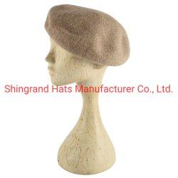 Boina de lana Retro Dama Color Mezcla de Arte Moda Hat
