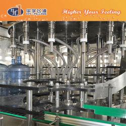 5 gallon / 20L'eau minérale le plafonnement de la machine de remplissage de rinçage