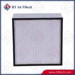 Глубокую Pleat воздушный фильтр HEPA для системы кондиционирования воздуха