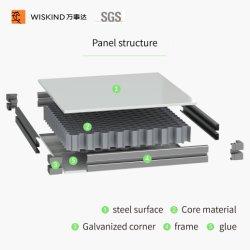 PPGI Acero/Ss/HPL /PU/lana de roca/EPS modulares personalizados de paneles sándwich de sala limpia de farmacia con la norma ISO