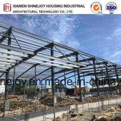 Magazzino prefabbricato dell'edificio per uffici del fascio del blocco per grafici della sezione della struttura d'acciaio