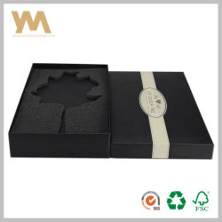 Embalaje de regalo Joyeros cosméticos Pulsera Anillo vino de regalo de chocolate de papel rígido Embalaje