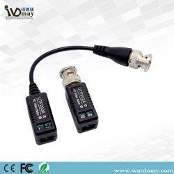1 Actif combinables HD-CVI/tvi/Ahd CCTV UTP passive Balun vidéo BNC