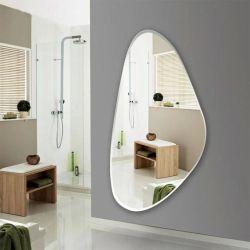 In het groot Spiegel 3mm van het Kristal van de Spiegel Frameless Zilveren Afgeschuinde Spiegel Afgeschuinde Rand voor het Decor en het Meubilair van het Huis