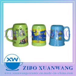 Vidros coloridos Tamanho Múltiplos Cerveja Cerâmica Caneca Loja copo de cerveja de cerâmica de férias