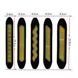 Универсальный автомобиль авто гибкие светодиодные системы освещения дневного движения кар стайлинг водонепроницаемой гибкой початков LED DRL лампы Лампы вождения
