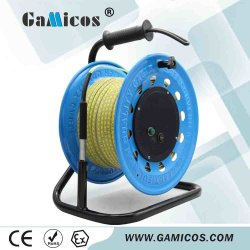 Gamicos 50m 100m 300m de Meter van de Waterspiegel van de Heerser van de Kabel diep goed met Peiler